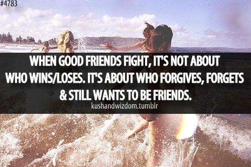 friendship breakup